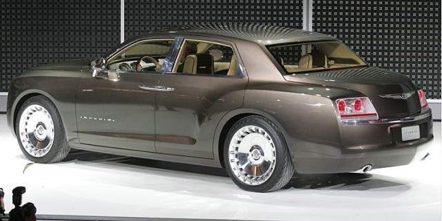 2018 Chrysler Imperial Rear