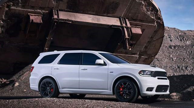 2018 Dodge Durango SRT - side