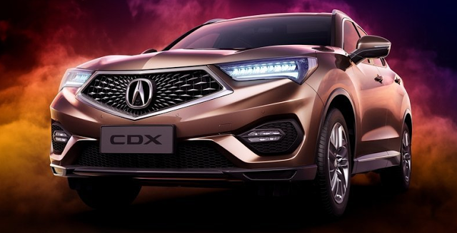 2018 Acura CDX - front