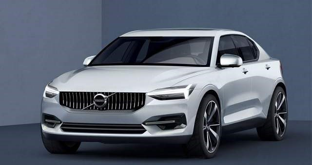 2018 Volvo S40 - front