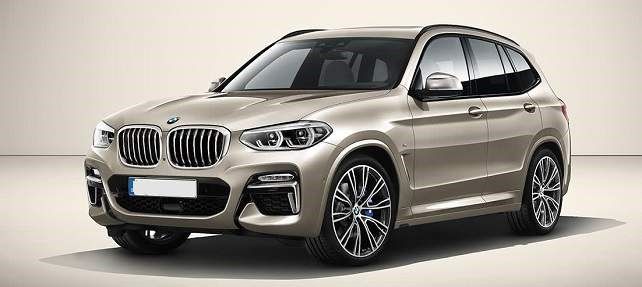 2019 BMW X5 - front