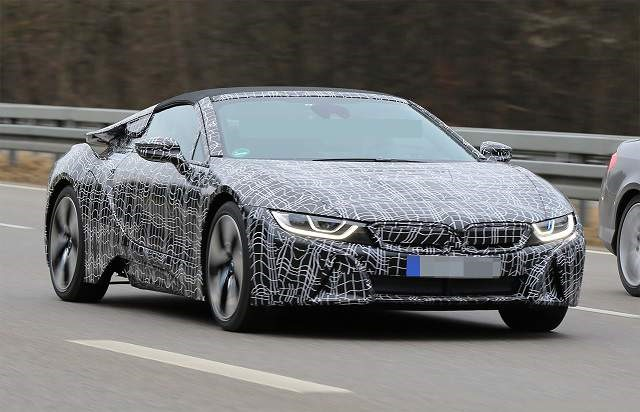 2019 BMW i8 Roadster - front