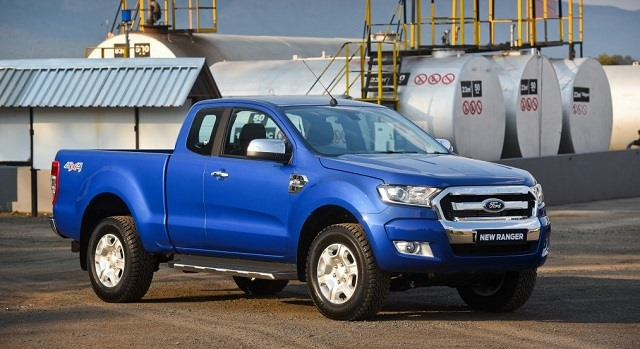 2019 Ford Ranger - side
