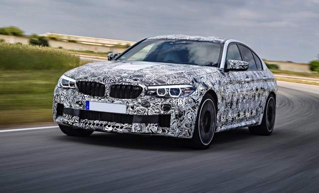 2019 BMW M5 - front