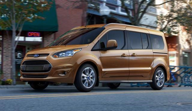 2019 Ford Transit - front