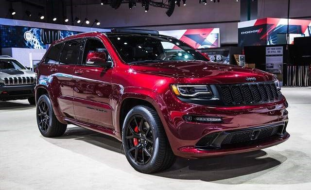 2019 Jeep Grand Cherokee SRT - front