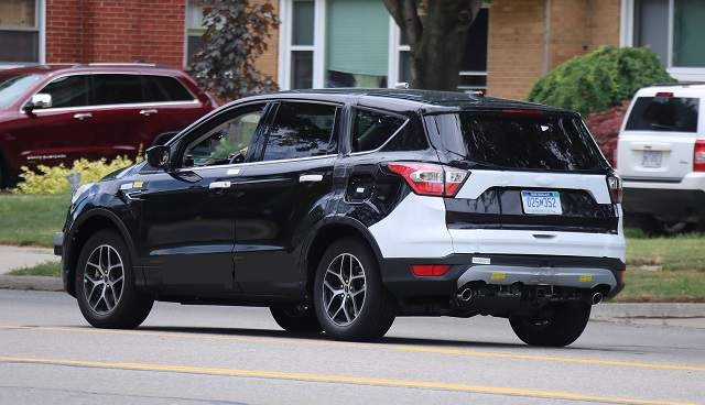 2019 Ford Escape Hybrid - rear