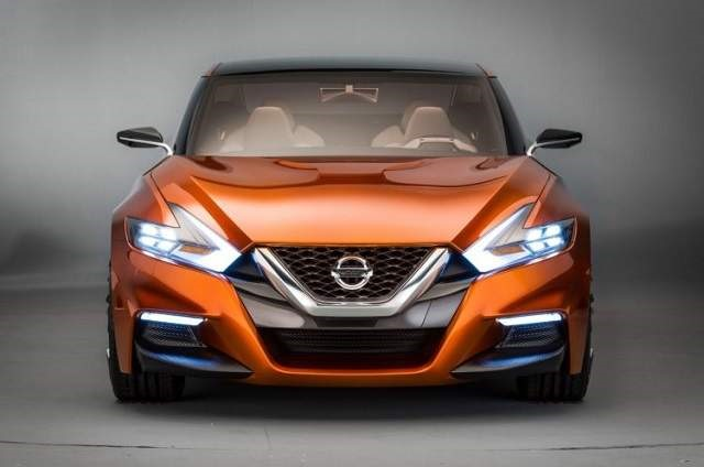 2019 Nissan Maxima - front