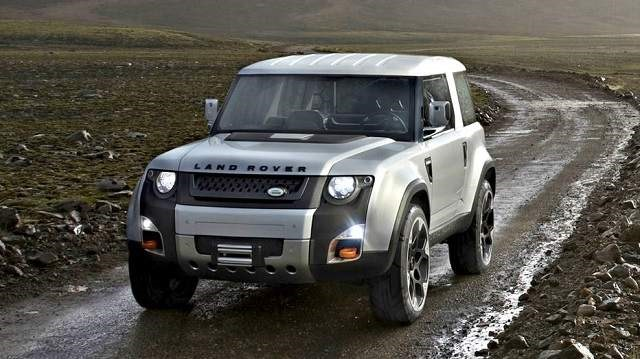 2019 Land Rover Defender - front