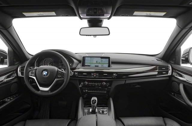 2018 BMW X6 black interior